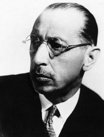 Russian Composer Igor Stravinsky