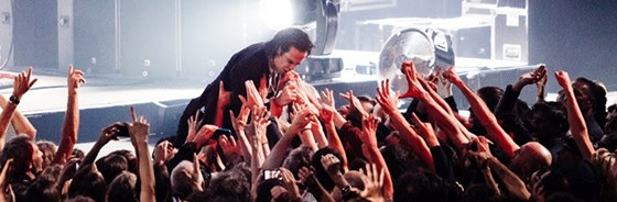 Nick Cave - Zenith, Paris 03/10/17 | Photo by Jason Williamson